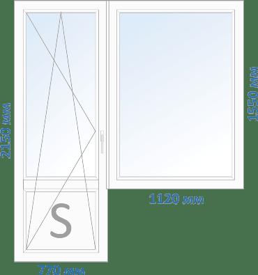 окна в 12 этажку чешка