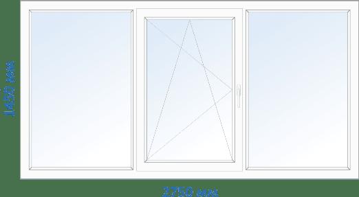 окна в 9 этажку чешка