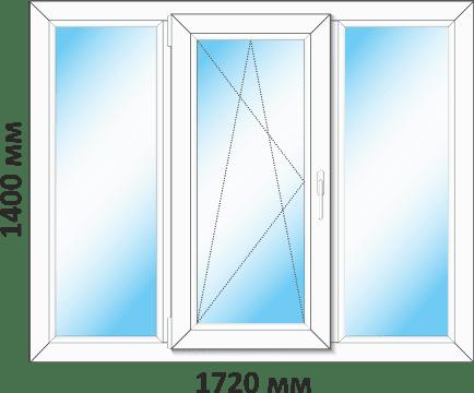 окно в 16-ти этажку