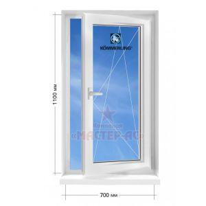 окно Kommerling открывающееся в частный дом