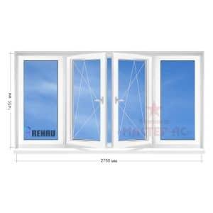 балконная рама рехау 9, 12 этажка