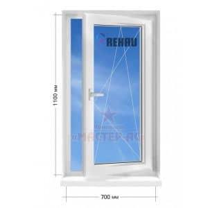 окно рехау открывающееся