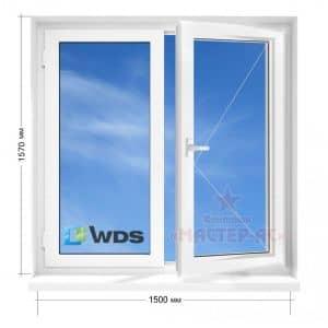 окна вдс в 12 этажку