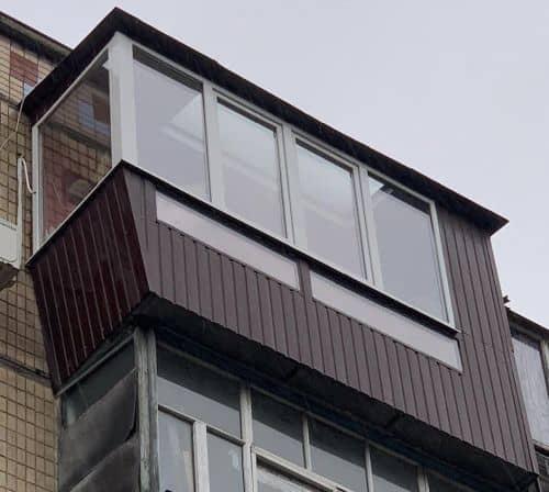 фото балкон улучшение